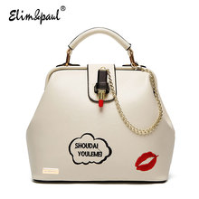 ELIM&PAUL Crossbody Bags For Women Leather Handbags Women Casual Bag Vintage Bolsos Women Messenger Bags Women Leather Bags 7200