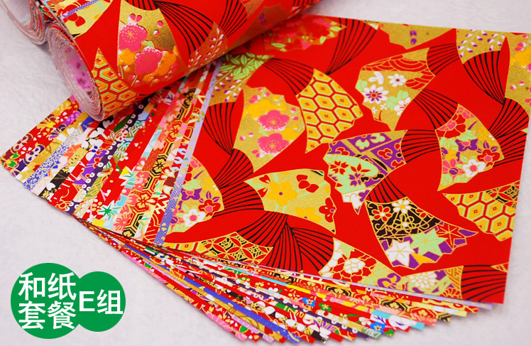 Hospitable 60pcs Beauty Floral Square Origami Folding Japanese Lucky Wish Paper 6 Colors 15*15cm Crane Chiyogami Diy Craft Supplies