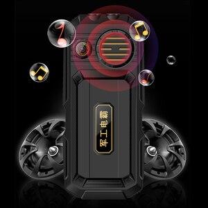 "Image 2 - Wcdma 3g 휴대 전화 3.0 ""터치 스크린 전원 은행 와이파이 푸시 버튼 듀얼 sim 듀얼 손전등 시끄러운 스피커 핸드폰 러시아어 키"