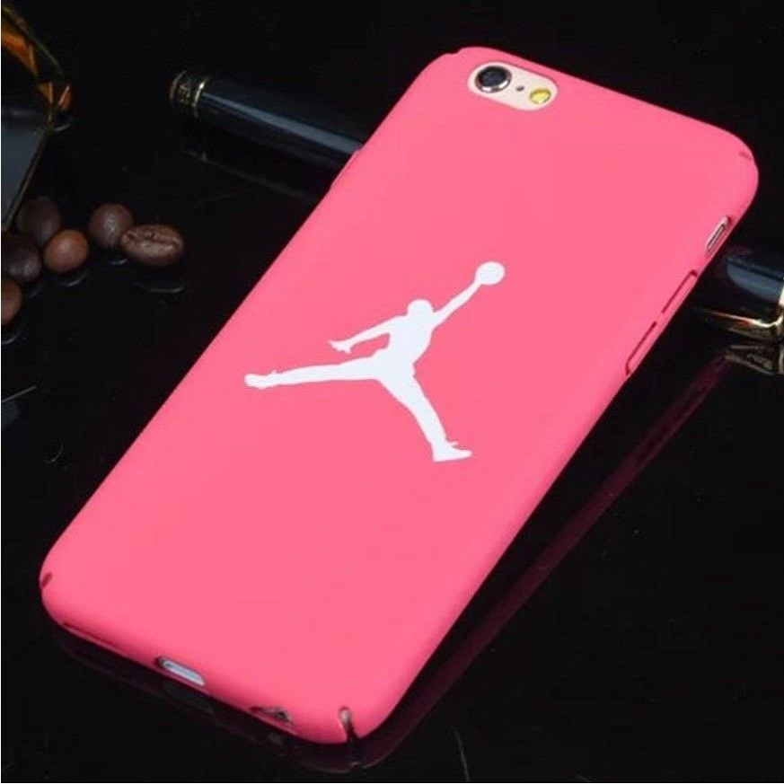 new arrival 7d1c7 8ca71 Jordan Case For iPhone 7 8 Plus 5s SE 5 23 Matte Hard Plastic For carcasa  iphone 7 Coque Case For iPhone 6 S Back Cover