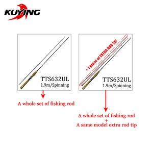 Image 4 - KUYING TETON 1.56m 1.8m 1.86m 1.9m 1.92m 1.98m Super Ultra Soft Light Baitcasting Casting Spinning Lure Fishing Rod Pole Combo