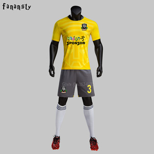 High quality soccer uniform 20