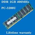 Настольных памяти пожизненная гарантия для Samsung DDR 1 ГБ 400 мГц PC-3200U 400 1 г оперативной памяти компьютера 184PIN оригинальной аутентичной
