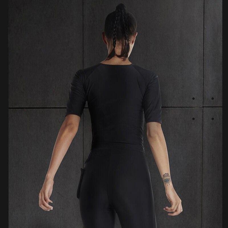 c120ad3a616 US $16.46 40% OFF|Sexy Hot Sweat Yoga Shirts Tops Women Fitness Sports Half  Sleeve T Shirt For Gym Running Shirts Female Sportswear FBF716501-in Yoga  ...