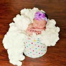 Cute Newborn Photography Props White Large Sphere Wave Ball
