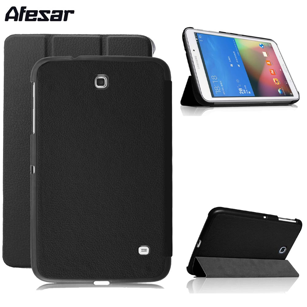 Tab 4 SM-T330 T331 Tablet Smart Book Cover Case - Ultra Slim Cover For Samsung Galaxy Tab 4 8.0 SM-T330 T331 Magnet Closure Case