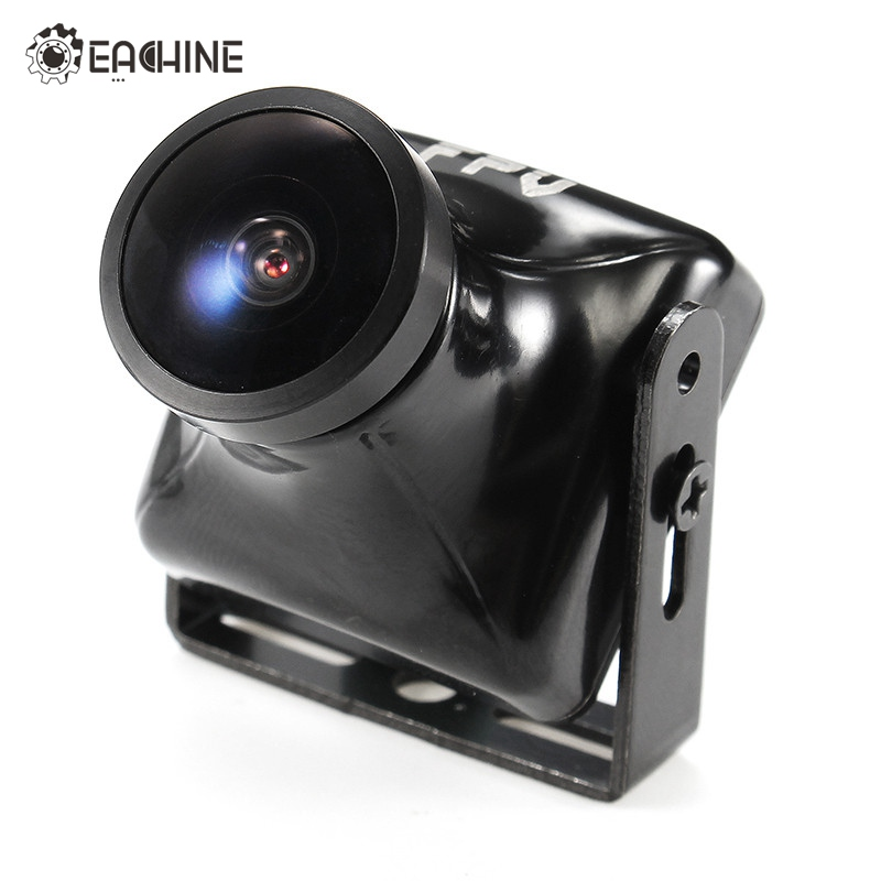 цена на Original Eachine C800T 1/2.7 CCD 800TVL 2.5mm Camera w/ OSD Button DC5V-15V NTSC PAL Swtichable FPV Mini Cam Black For RC Model