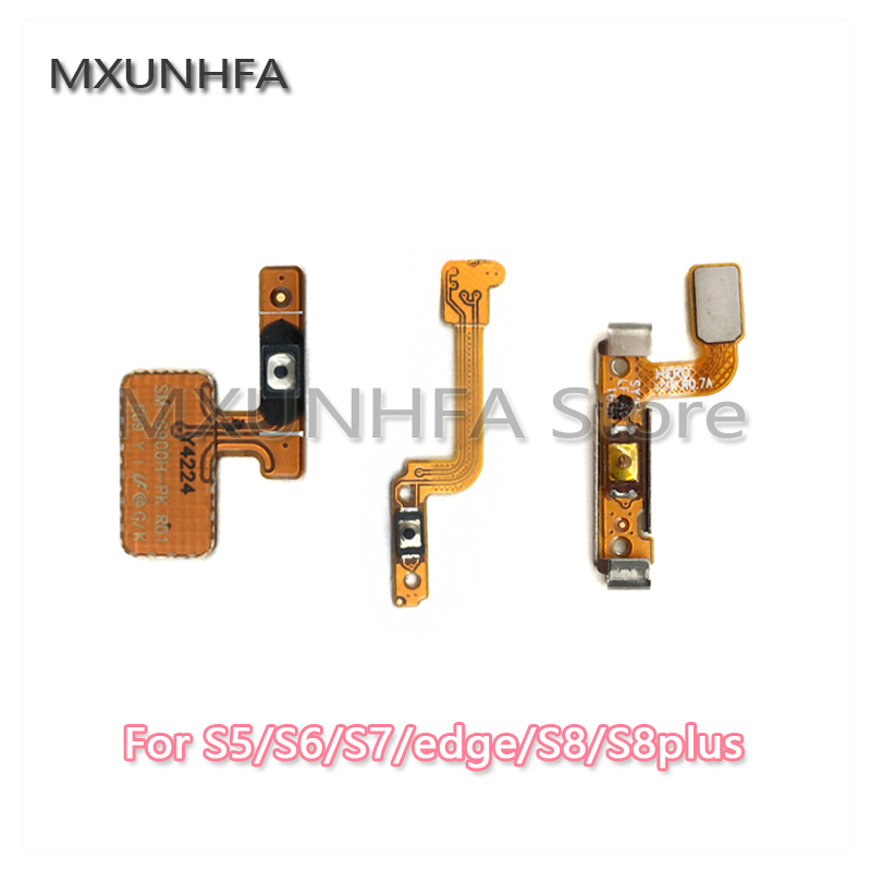 Power Flex For Samsung Galaxy S3 S5 S6 S7 Edge S8 Plus Switch Button ON OFF Connector Flex Cable