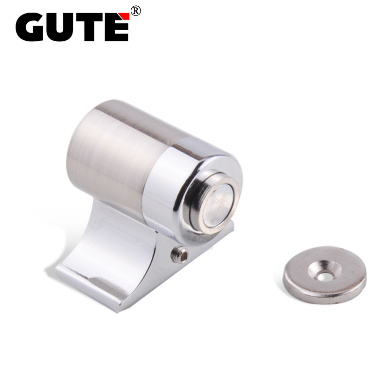 GUTE Exquisite Door Stop Zinc Alloy Magnetic Strong Suction Door Holder Catcher Gate Floor Installation Home Hardwave gute exquisite door stop zinc alloy magnetic strong suction door holder catcher gate floor installation home hardwave page 1 page 3