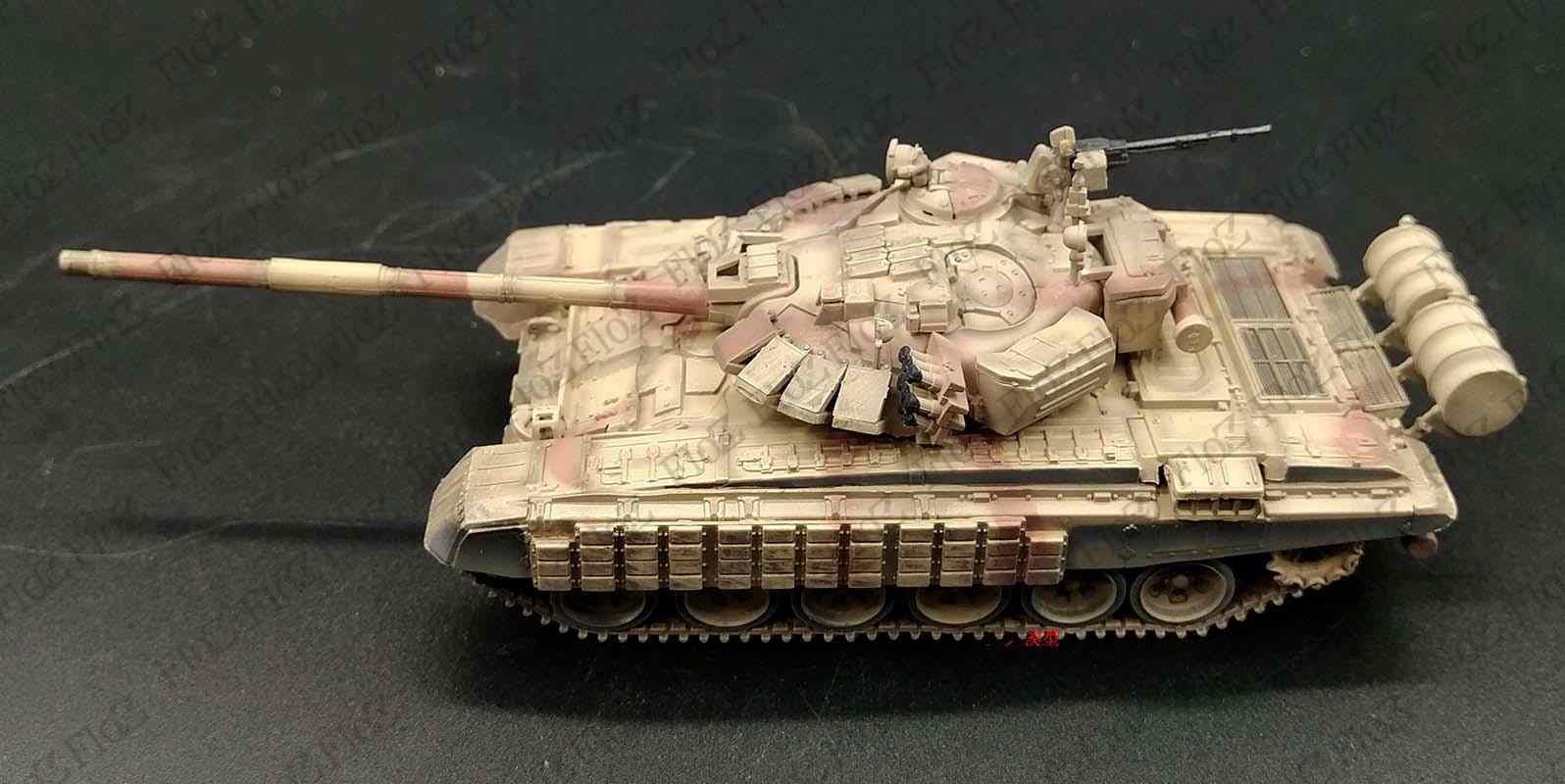 Modelcollect 1//72 AS-72054 Syrian War T-72BM Kontakt-1 Explosive Reactive Armor