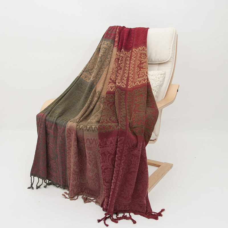 Bohême canapé coton couverture écharpe Plaid chaise lit décor serviette couvertures voyage bureau dormir couette couvre-in Couvertures from Maison & Animalerie    3