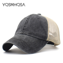 Fashion Baseball Cap Men Women Summer Mesh Sun Hat Baseball Hat Snapback Female Hip Hop Caps Bonnet Adjustable Unisex WH090 men women new mesh cap solid color fashion multi function adjustable sports sun visor hat unisex fishing baseball snapback hat