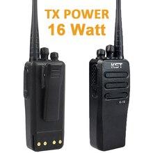 16 W de Potencia Real de Dos Vías Móvil Walkie Talkie de Radio del Coche de DC12V KST K16 10 KM de largo alcance transceptor FM Portátil con 4000 Mah de la batería