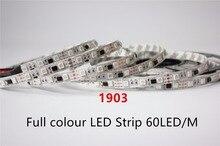 5m 1903 IC 5050 digital RGB LED Strip,300LED IP20 Non waterproof dream magic color 1903 Led Strip 5050, DC12V