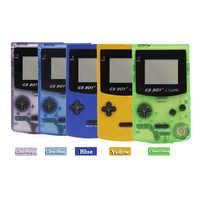 """GB Ragazzo di Colore di Colore Tenuto In Mano del Giocatore del Gioco 2.7 """"Portatile Classico Console di Gioco Console Con Retroilluminazione 66 Built-In Giochi"""