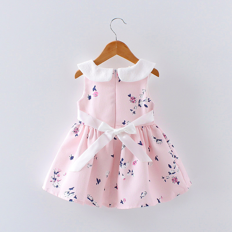 HTB1hjwyQFXXXXXeXVXXq6xXFXXXK - LCJMMO 2017 Baby Girl Dress Summer Floral Princess Party Cute Cotton Baby Girls Clothing Kids Lolita bow-knot Dresses For 6-24M