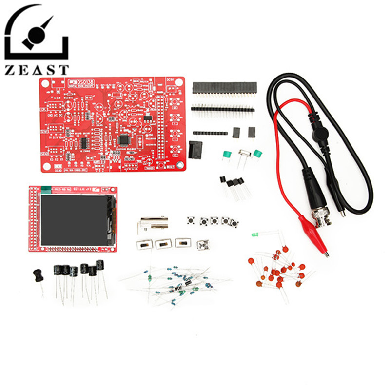 DSO138 DIY Digital Oscilloscope Unassembled Kit SMD Soldered 13803K Version 200KHz the best best baby page 7