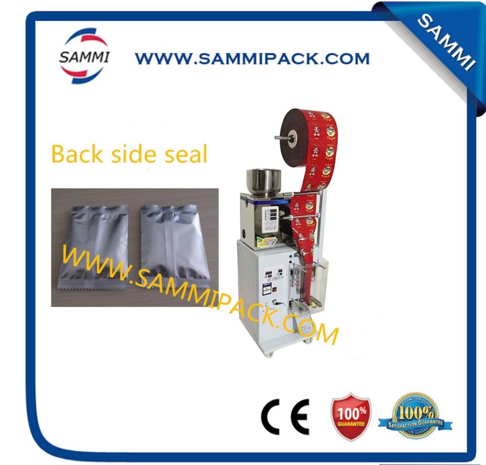 SMFZ-70 back side seal automatic tea bag packing machine for granule, powder