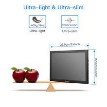 EYOYO 10″ inch Portable gaming monitor IPS LCD Display Portable Monitor HDMI PS4 XBOX PC Laptop Raspberry 3 ordenador port til