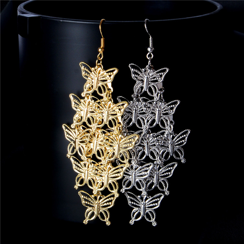 20 in, Jay Seiler Stainless Steel Butterfly Marcasite Necklace Length