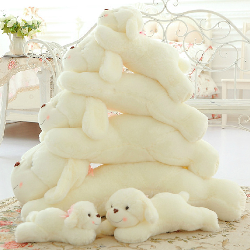 2017 New Lovely Lying Puppy Plush Dog Pillow Cushion Kids Toys Stuffed Animal Doll Birthday Gift Pet Dolls Stuffing Toy MR091 cute labrador big plush toy lying dog doll search and rescue stuffed toys children birthday gift pillow