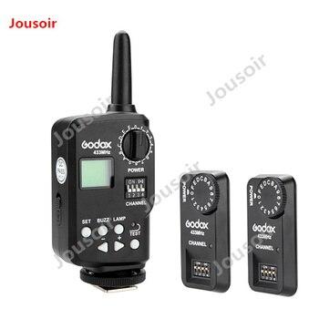 Godox Ft-16s Wireless Power Control Remote Trigger kit 1 ansmitter+2x Receiver for Godox V850 V860C V860N Flash Speedlite CD50