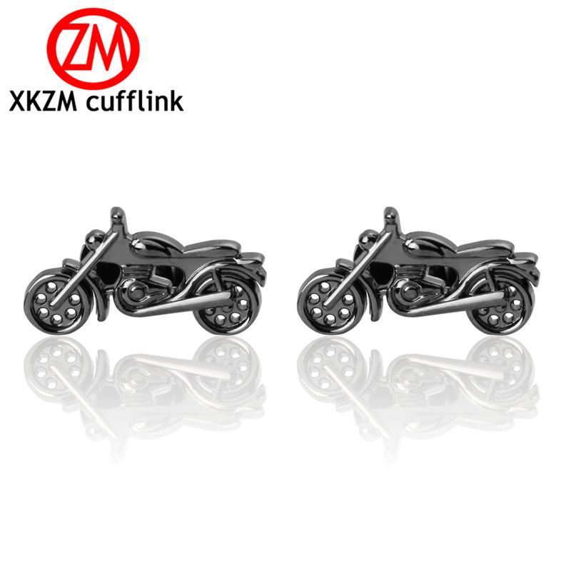 High Quality French Style gun Black motorcycle Cufflinks For Mens Shirt Brand suit Cuff Buttons Top sale Cuff Links Jewelry