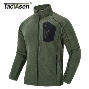 Image 2 - TACVASEN דק צבאי צמר מעיל מעיל חורף גברים תרמית צמר מעילי צבא ירוק בגדי גברים של Windproof אוניית צמר