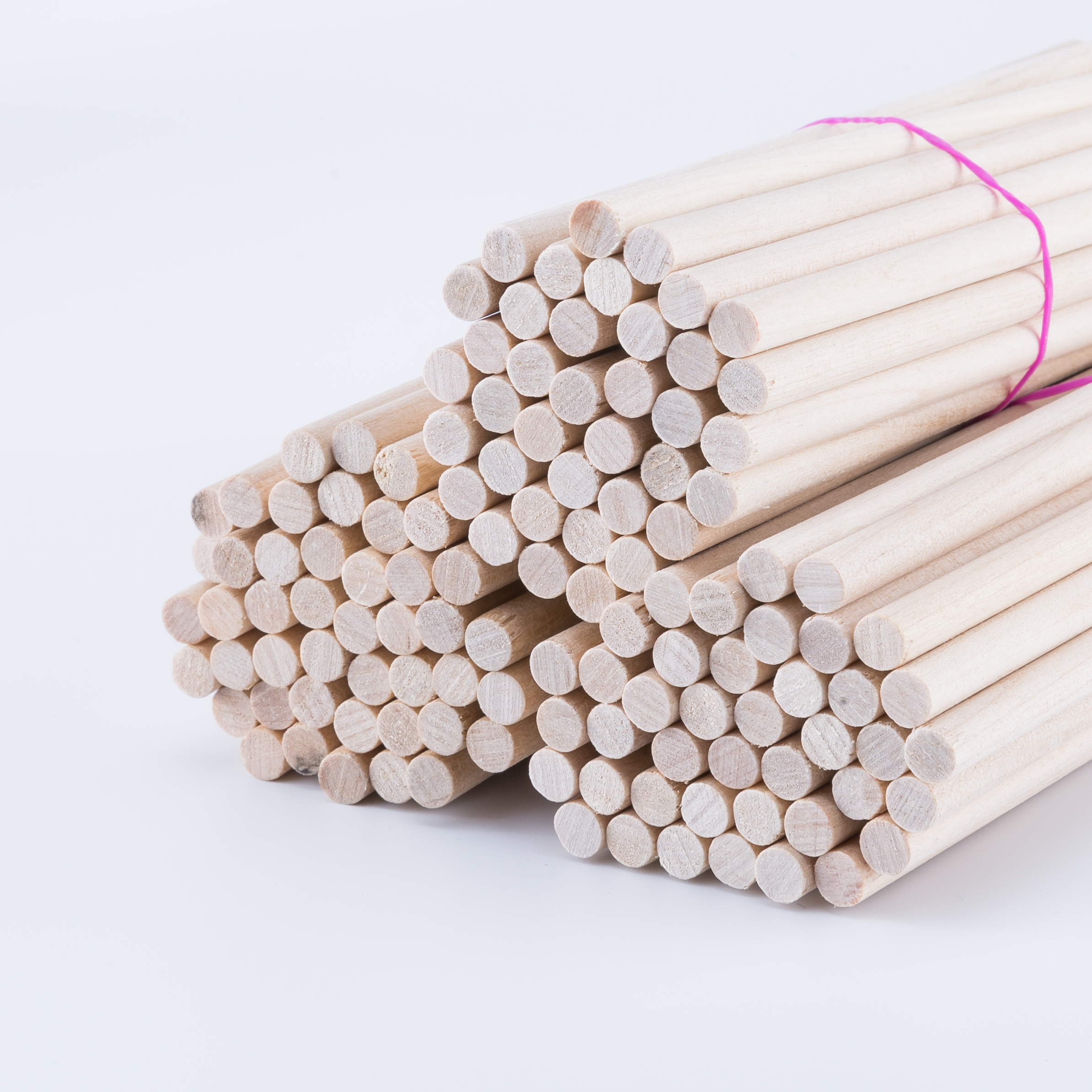 25/50Pcs 0.15cm Maple Round Wooden Rods Sticks Premium Durable Wooden Dowel For DIY Crafts Building Model DIY Food Craft