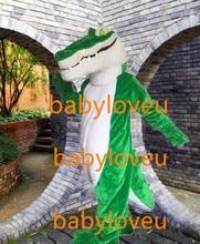 New high quality crocodile Dinosaur mascot costume fursuit halloween costumes party costume dinosaurs fancy dress christmas gift
