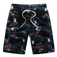 Plus Size 5XL 6XL Mens Shorts Swimwear Floral Printed Hip Hop Summer Beach Shorts Male Boardshort