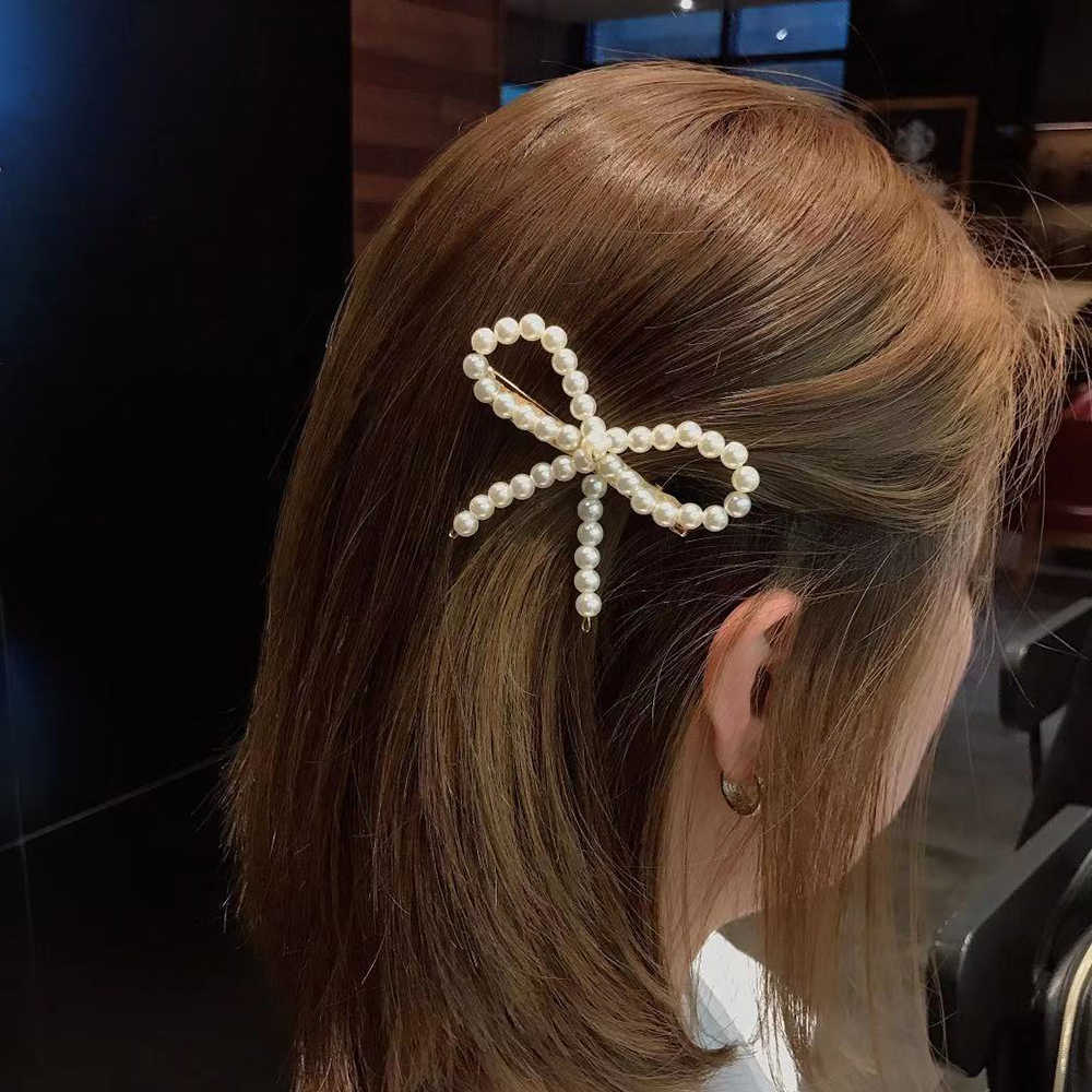30Styles Women Hairpins Pearl Imitation Beads Hair Clip Barrette Stick Hairpin Hair Jewelry Accessories Hair Pins For Girls