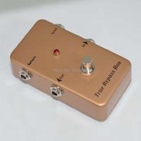 True-Bypass Looper Looper Switcher true bypass guitarra Pedal de Efectos de Guitarra Pedal de Efectos pedal de Oro interruptor de Bucle