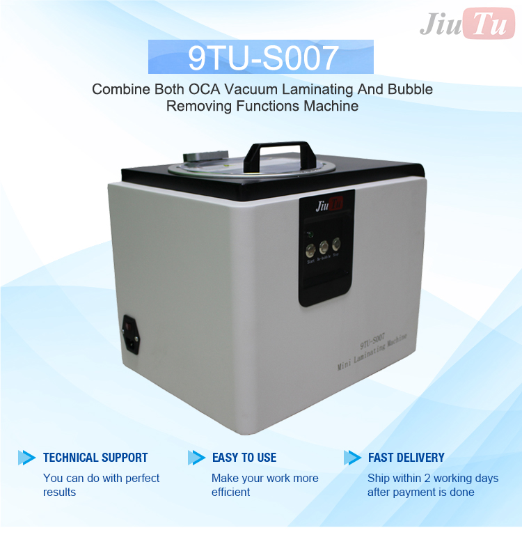 9TU-S007 LCD Touch Screen Repair Automatic Bubble Removing Machine (2)