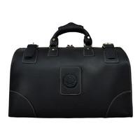 Высокое качество сумки для Для мужчин Повседневное большой Ёмкость Чемодан сумки мужской путешествия черный Сумки