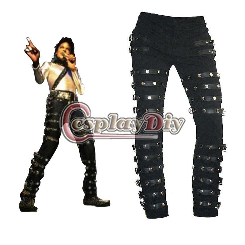 """Custom Made Michael Jackson """"BAD"""" ERA Stage Pants D1113"""