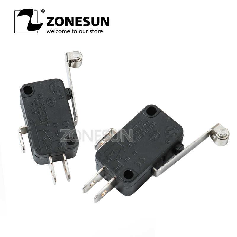 Фото ZONESUN LT50 LT50T LT50D LT50DT черный Микропереключатель с ручкой ремень электрический