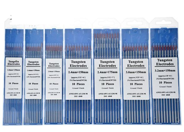 Hot Sale 2.0% Thoriated WT20 TIG Welding Tungsten Electrode Rod 3.2mmx150mm 10pcs/Pack AWS EWTh-2.0 AC DC Red Color форма для орешков delicia silicone 629353
