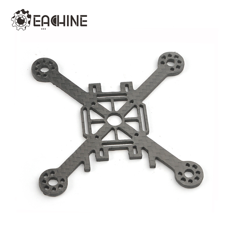 High Quality 2017 Eachine Lizard95 FPV Racer Spare Part 3K 2.5mm Carbon Fiber Main Plate For RC Multicopter Rotor Parts 2pcs eachine falcon 250 carbon fiber arm motor mount spare parts for mini drone quadcopter rc helicopter multicopter part