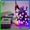 1000 pcs DMX led pixel cordas 12mm único módulo de led de luz, digital correndo cor, IP68, DC5V