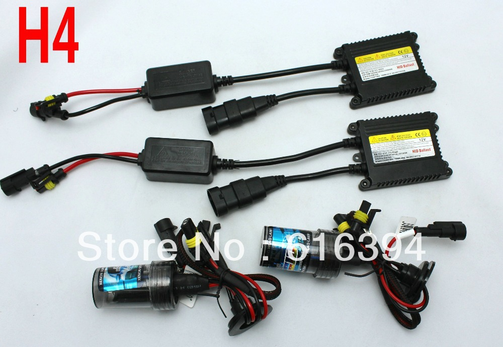Free shipping,LOWEST PRICE,FACTORY SALE,HID XENON KIT,H4,12V,35W,3000K,4300K,5000K,6000K,8000K,10000K,12000K free shipping new products 12v 35w hid xenon kit h4 single bulb 3000k 4300k 5000k 6000k 8000k 10000k 12000k