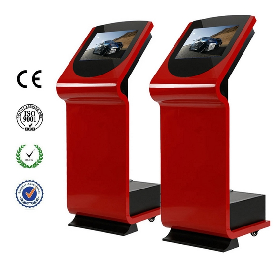 19 Inch Network Touch Interactive Wifi Stand Ad Player Electronic Lcd Tft Lcd Terminal Payment Kiosk