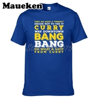 594adb0c9d93 Men Curry Bang Bang Stephen Curry 30 Golden State T Shirt Clothes T Shirt  Men S
