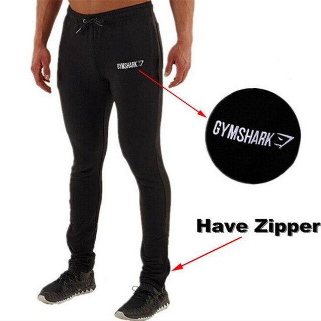 2017 caliente venta Gymshark hombre jogger pantalones pantalones pantalones cargo pantalon homme Gymshark gimnasio marca profesional