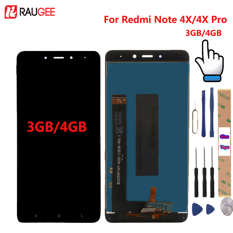 For <font><b>Xiaomi</b></font> <font><b>Redmi</b></font> <font><b>Note</b></font> <font><b>4X</b></font> <font><b>LCD</b></font> <font><b>Display</b></font> + Touch Screen Digitizer Replacement Test-Good For <font><b>Xiaomi</b></font> <font><b>Redmi</b></font> <font><b>Note</b></font> <font><b>4X</b></font> Pro 5.5