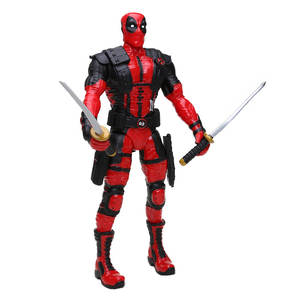 Collectible Model Dolls Marvel-Toys Deadpool-Figure Winston Superhero Wilson Wade Bobble-Head