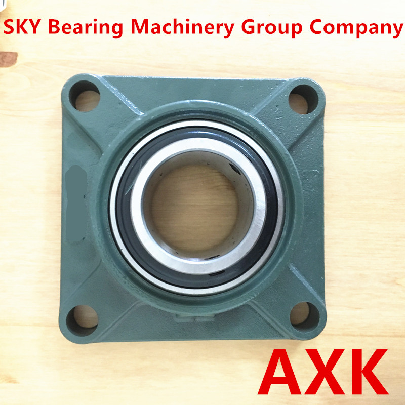 UCF208 40MM 4-Bolt Square Flange Pillow Block Bearing with Housing tama ms612sh square head bolt m6x12mm