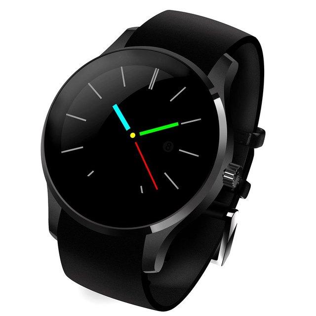 -Função muti cacgo mtk2502 k88s 1.22 polegada rodada disque smartwatch telefone ips tela bluetooth ip54 resistência à água
