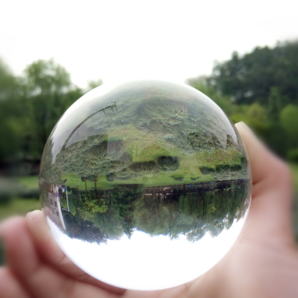 Clear Color Crystal Ball 50mm 6pcs/lot Paperweight Glass Fengshui Ball For Home Decoration Free Shipping 6pcs lot free