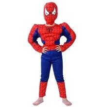Conjunto de disfraces de Halloween para niños, ropa de escenario, músculos, para fiesta